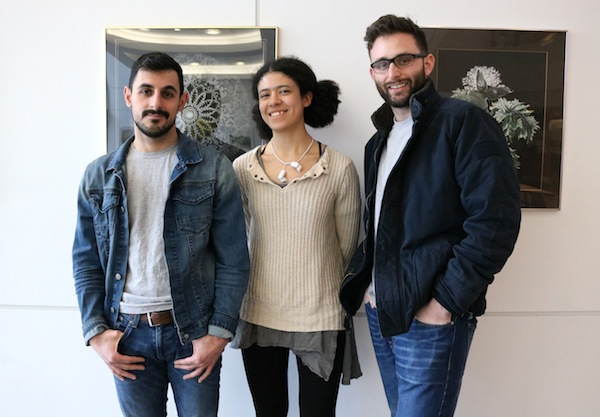 GRIT founders Mathew Neut-Perez, Christina Roman, and Cody Hernandez