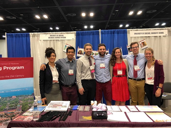 GRIT members from the BSD and PSD at SACNAS 2018
